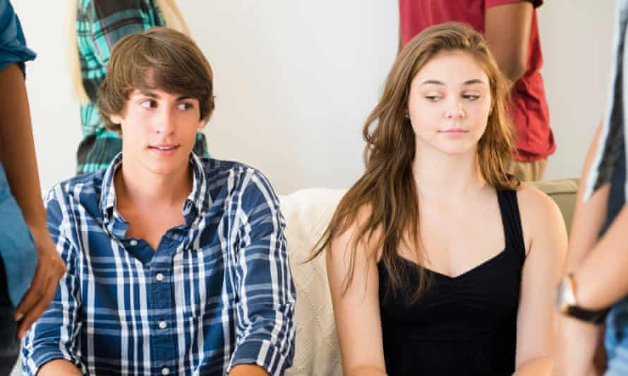 My teenage son can't talk to girls | Family | The Guardian