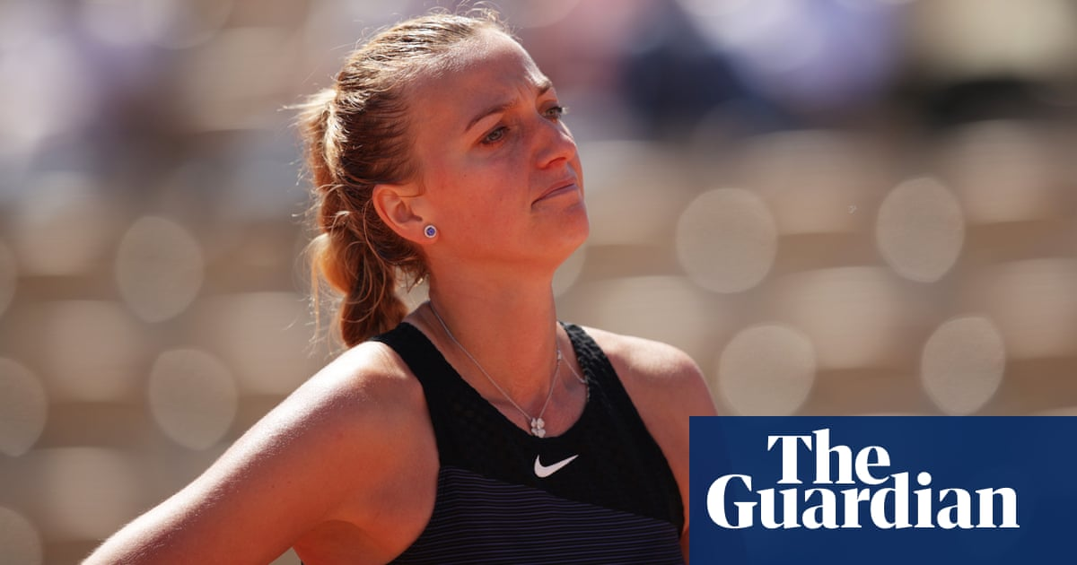 Petra Kvitova out of French Open after injuring ankle during press duties