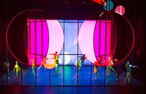Artist Olafur Eliasson created the visual concept for the ballet Tree of Codes, choreographed by Wayne McGregor, at Manchester Opera House in 2015