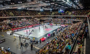 While Mavericks beat Storm in front of 6,000 fans, many Superleague matches are played out in front of just 800 in university sports halls.