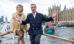 Kate Hoey with Nigel Farage during the referendum campaign.