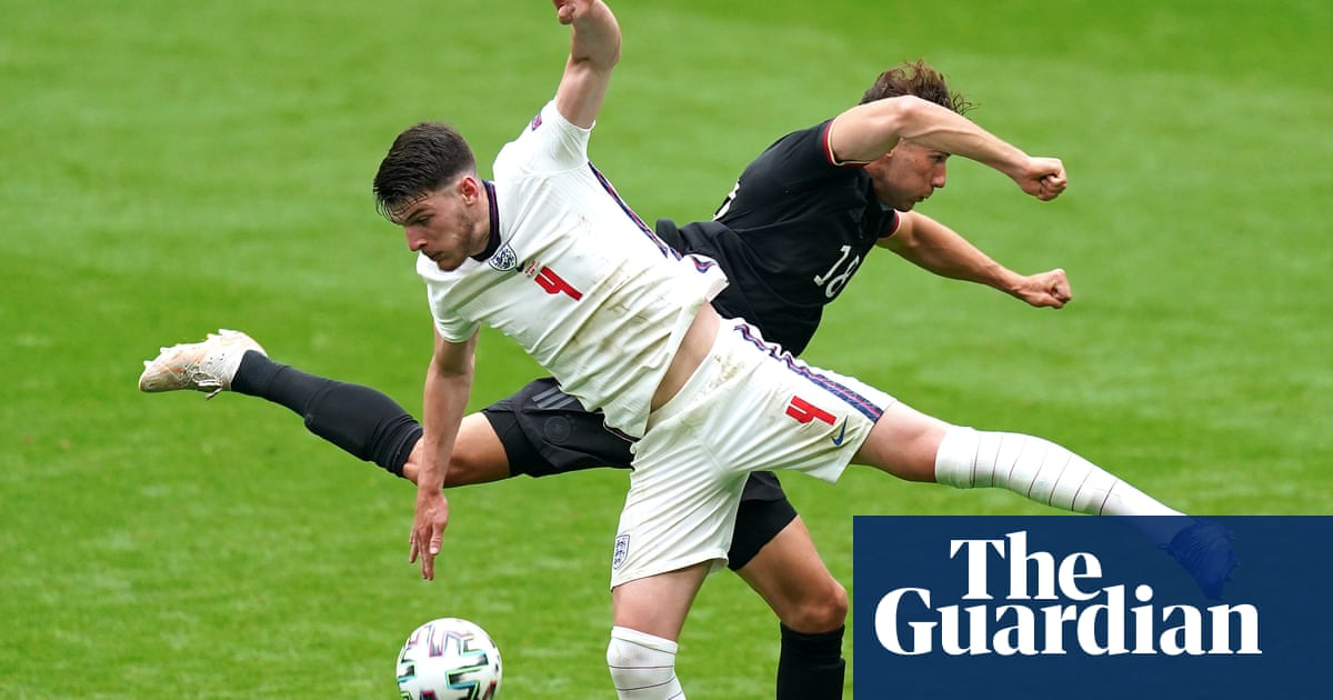 Declan Rice's tightrope skills help England hit the heights at Euro 2020 | Jacob Steinberg