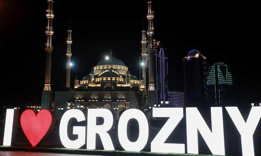 Akmad Kadyrov mosque in Grozny.