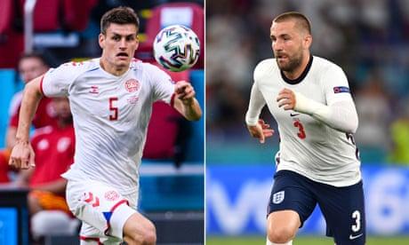 England v Denmark is a battle between two outstanding full-backs