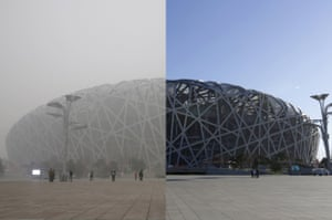 Beijing's National Stadium, also known as the Bird's Nest