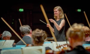Wonderful rapport … Mirga Gražinytė-Tyla, with the CBSO tat Symphony Hall.