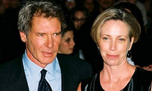 Melissa Mathison with Harrison Ford in 1999.