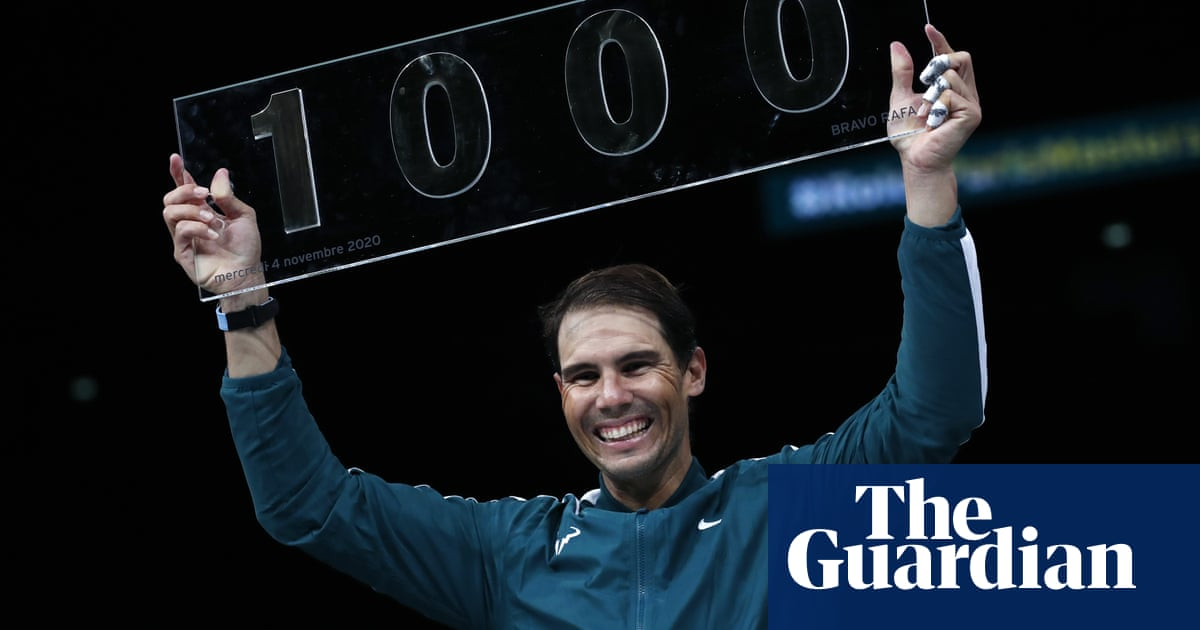 Rafael Nadal shakes off rust to beat López and join ATPs 1,000 club