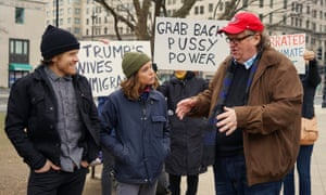 'I felt inspiring moments of absolute joy': Ellen Page shoots Vacation with Michael Moore.