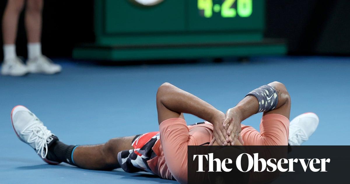 Nick Kyrgios beats Karen Khachanov in Australian Open five-set rollercoaster