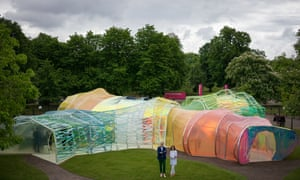 José Selgas and Lucía Cano designed the Serpentine Pavilion in London. Now their trippy masterpiece is moving to Los Angeles.