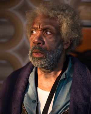 Lenny Henry in a scene from Soon Gone: A Windrush Chronicle.