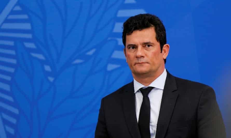 Brazil's justice minister, Sérgio Moro, became a household name for leading a major anti-corruption investigation and jailing the former president Luiz Inácio Lula da Silva.