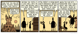 Tom Gauld . 11th April 2020 TGcartoon613