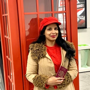 Anita Sethi at the Eurostar terminal in Brussels