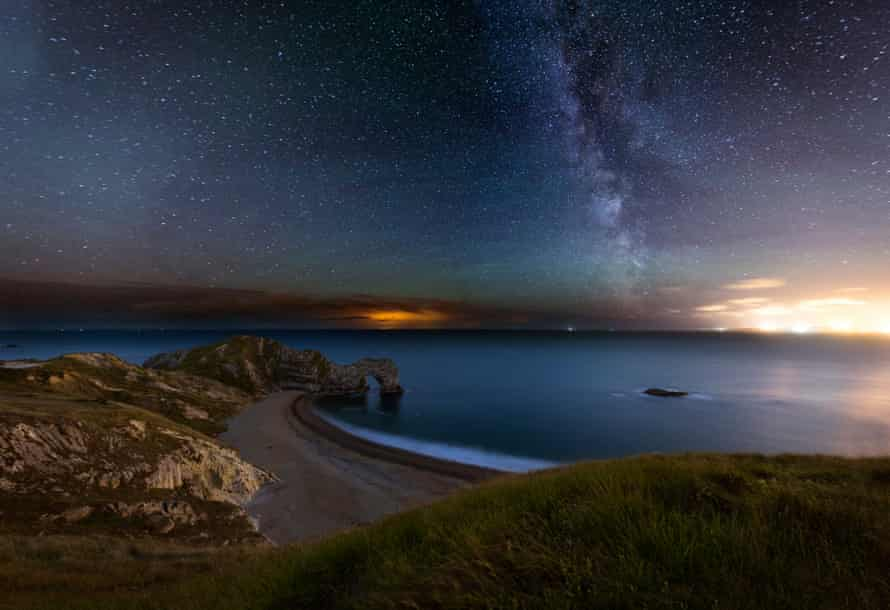 Enchanted … Dorset by night.