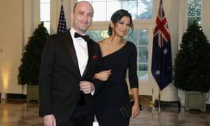 Trump adviser Stephen Miller and Katie Waldman held their nuptials at Trump International Hotel in DC.