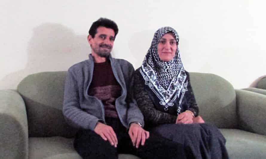 Shoruk Alsakni and her husband, Abdullmunim Nanaa.