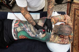 Tattoos are on the list for people to get done once restrictions lift in Melbourne tonight