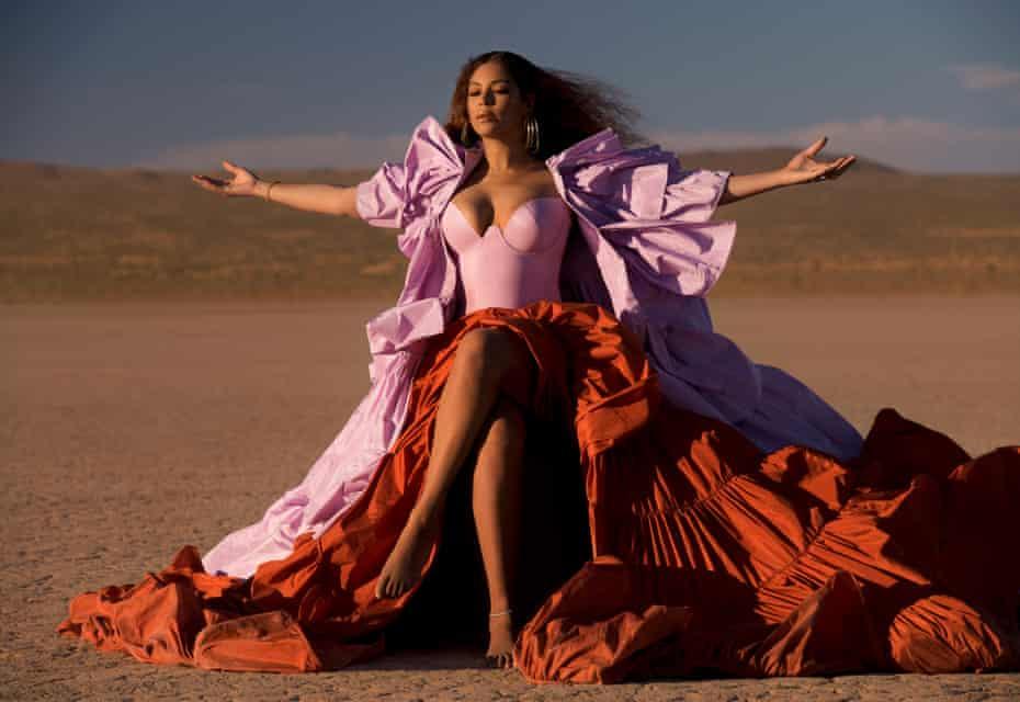 Astonishing starpower ... Beyoncé.