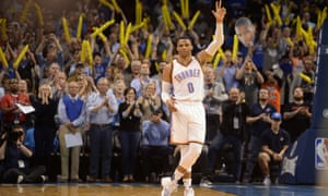 Russell Westbrook tied a record set during the 1961-62 season