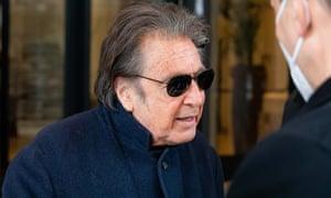 Al Pacino di Milan menembak House of Gucci.
