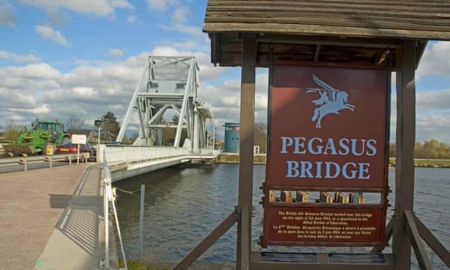Pegasus Bridge, Ouistreham, Calvados Normandy
