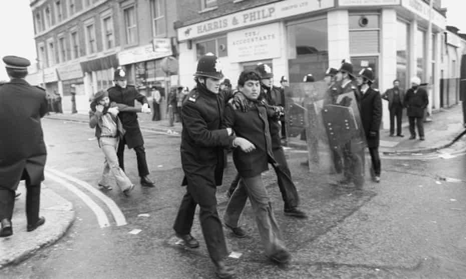 'Awash with period markers': a protest against a National Front rally in Southall, west London, April 1979