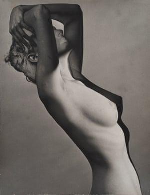 Erwin Blumenfeld, Nude, Paris