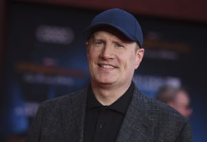 Kevin Feige at the world premiere of Spider-Man: Far From Home.