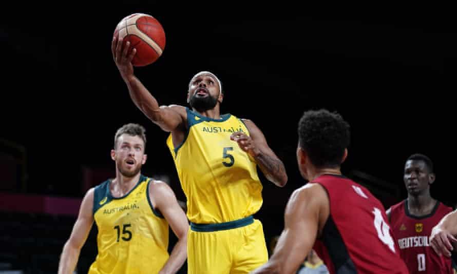 Australia v Germany, basketball at the Olympics
