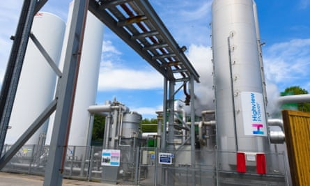 Highview Power, Pilsworth liquid air energy storage plant, Greater Manchester, UK