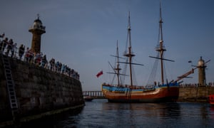 Some Māori tribes have refused to allow the replica of the Endeavour to dock, saying Cook brought with him disease, murders, and terrible outcomes for indigenous people.