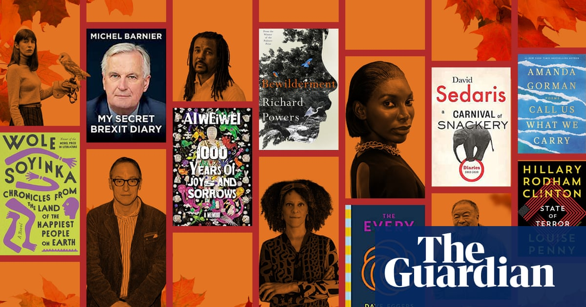 Legends of the fall: the 50 biggest books of autumn 2021