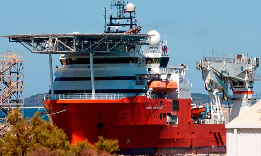 The Seabed Constructor in the search for MH370.
