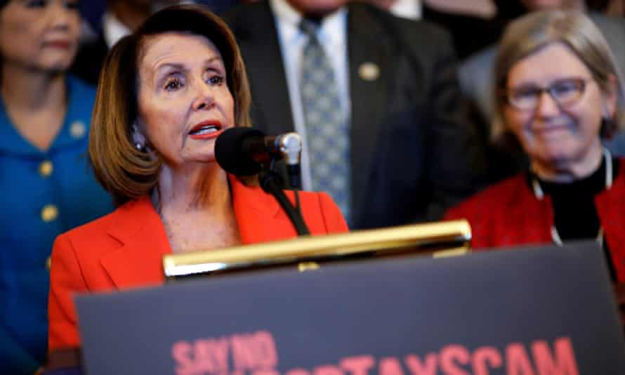 Nancy Pelosi was scathing about the bill.