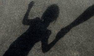 Shadow image of child