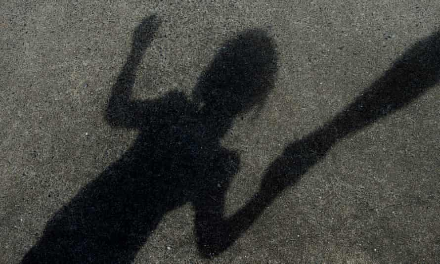 The shadow of a child