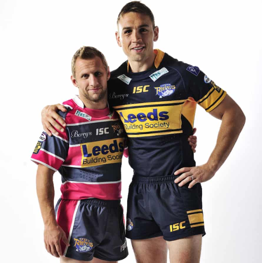 Rob Burrow and Kevin Sinfield in 2011.