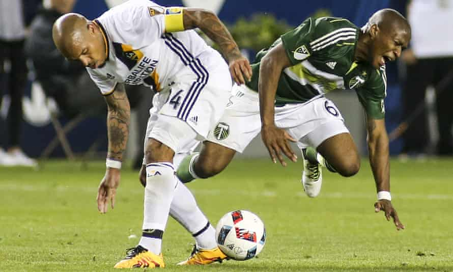 The verdict on Nigel de Jong's time at LA Galaxy is mixed
