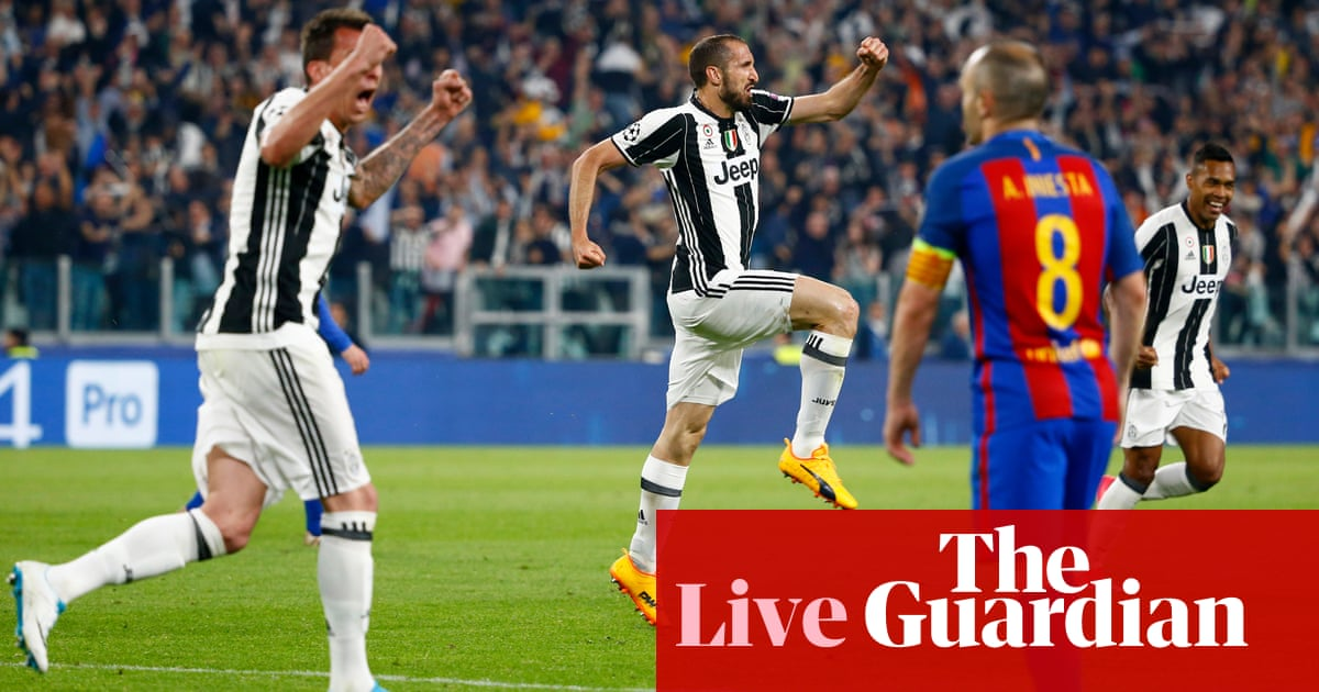 2df48c73f Juventus v Barcelona: Champions League quarter-final first leg – as it  happened | Football | The Guardian