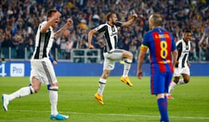 juventus v barcelona champions league quarter final first leg as it happened football the guardian juventus v barcelona champions league