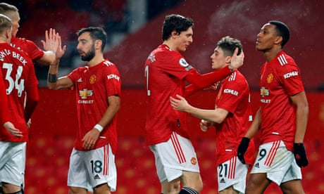 Depleted Southampton concede nine again at rampant Manchester United