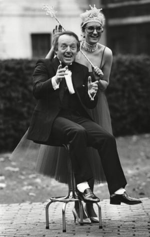 Paul Daniels and Sue Pollard, 1986