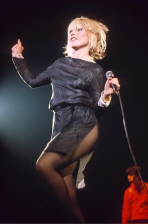Thigh-high split: Debbie in 1980