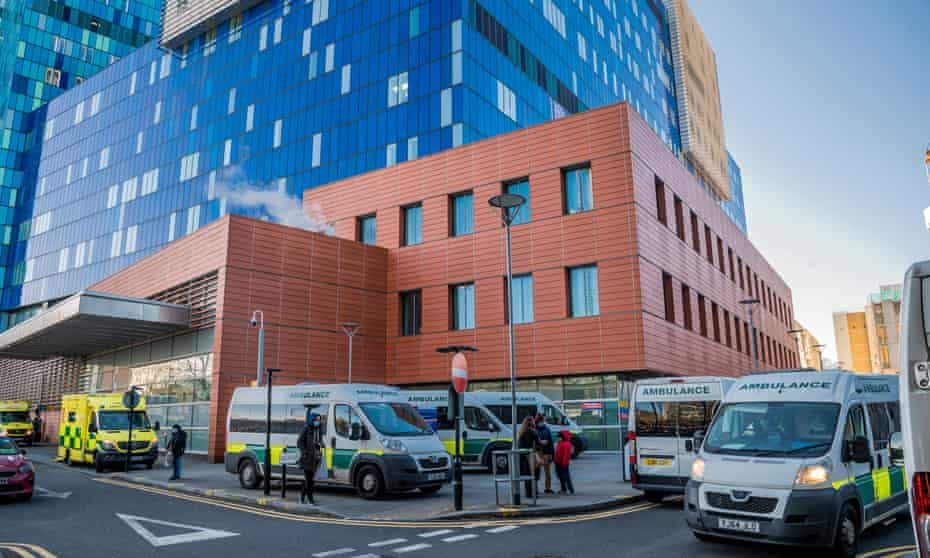 A&E at The Royal London Hospital in Whitechapel