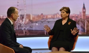Emily Thornberry on the BBC's Andrew Marr Show