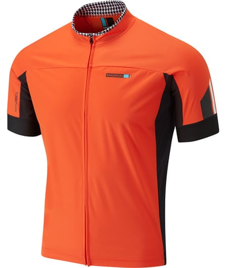 Ready to roll: Madison's professional Road Race Windtech jersey