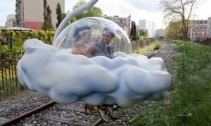 Audrey Tautou and Romain Duris in Gondry's 2013 film Mood Indigo