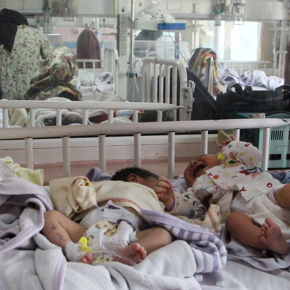 Baby born during Kabul hospital attack survived, charity says